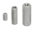 Hex Coupling Nut,Stainless Steel Long Nut,Hex High Nuts,Hexagonal coupler sleeve