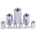 Stainless Steel Hex Coupling Nut,Long Nut,Hex High Nuts,Hexagonal Coupler Sleeve