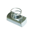 Short Spring Nuts,Strut Nut,Channel Nut With Spring,Spring channel Nut
